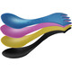 Light My Fire Spork Original 4 pack blackpearl/pinkmetal/pirategold